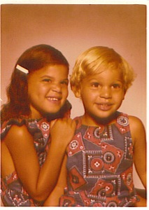 Teri and Jeff Childhood Photo